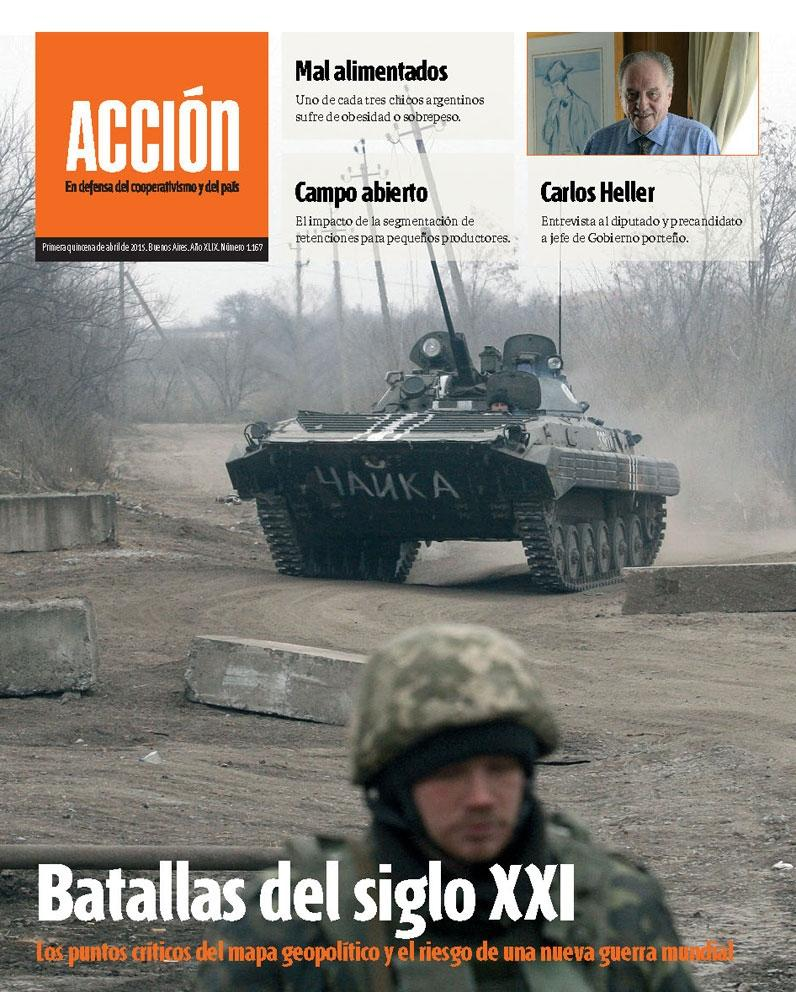 Revista ACCIÓN. Primera quincena de abril de 2015